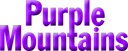 Purple Mountains Web